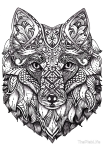 Tribal Art Series: Fox