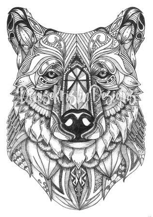 Tribal Art Series: Bear