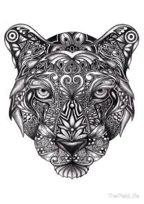 Tribal Art Series: Panther